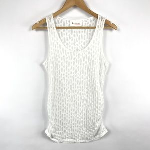 Two by Vince Camuto White Tank Top
